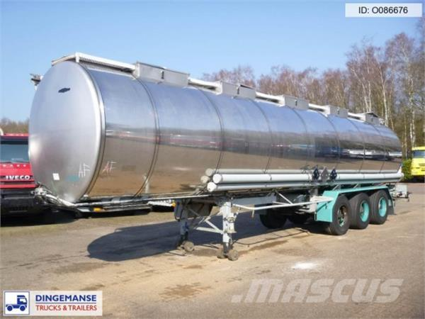 LAG Chemical tank inox 36 m3 / 1 comp
