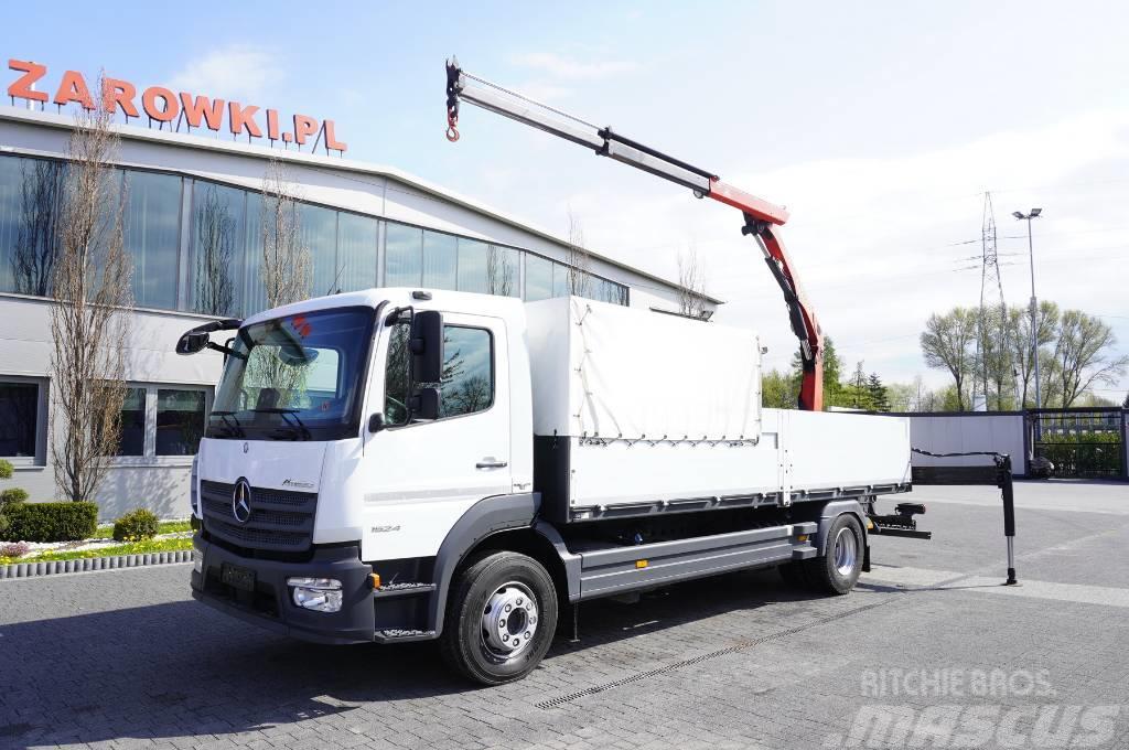 Mercedes-Benz Atego 1524 , E6 , Box 6m , Crane PK 7m / 3300kg
