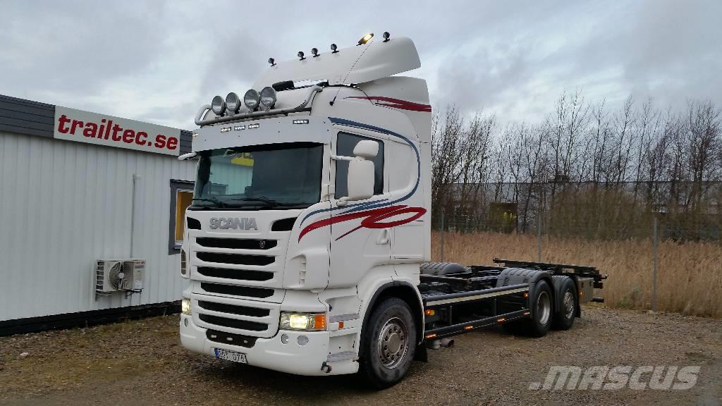 Scania R 480 Växelflak 7,82 -13