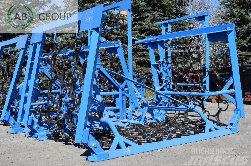 Inter-Tech Field drag 4 m/Herse de prairie/Rastra de cadenas