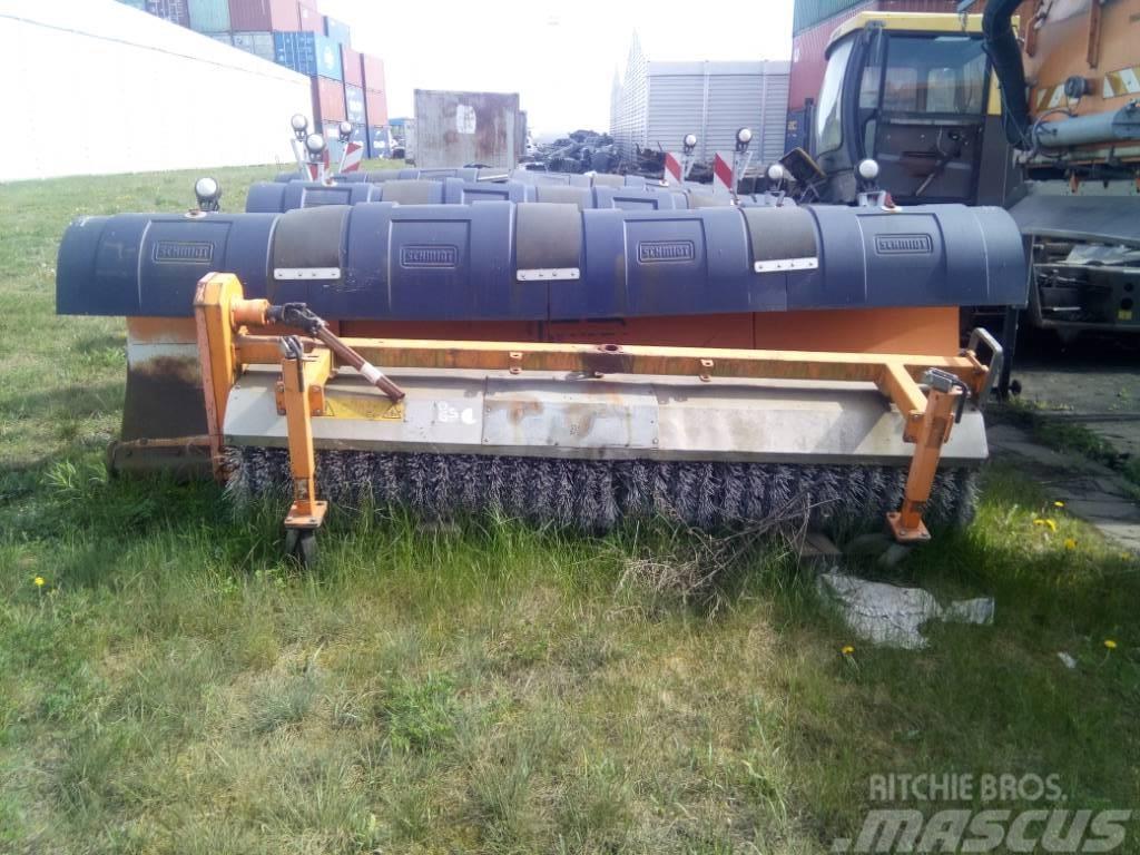 Schmidt single blade snow plough