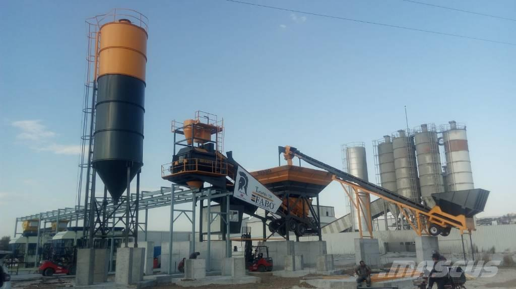 Fabo TURBOMIX-120 MOBILE CONCRETE BATCHING PLANT