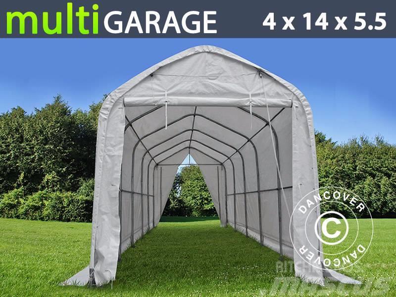 Dancover Storage Shelter 4x14x4,5x5,5m PVC, Telthal