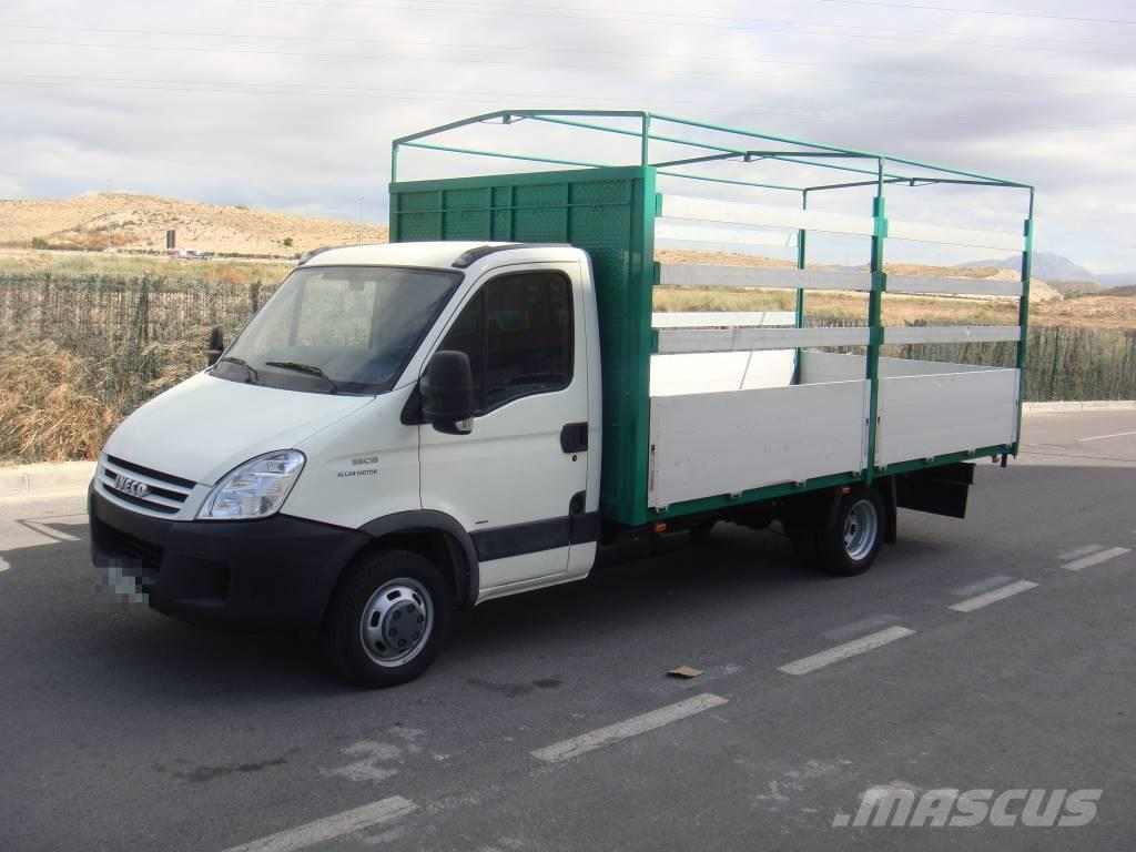 used iveco daily 35c18 caja abierta solo km curtain side trucks year 2007 price. Black Bedroom Furniture Sets. Home Design Ideas