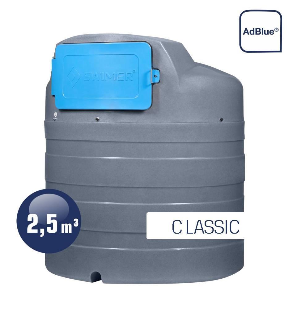 Swimer Tank Blue 2500 Eco-line Classic dwupłaszczowy