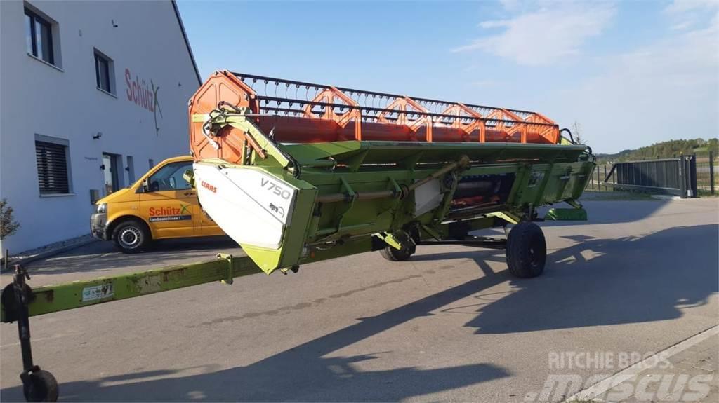 CLAAS Schneidwerk V750 inklusive Transportwagen, Baujahr