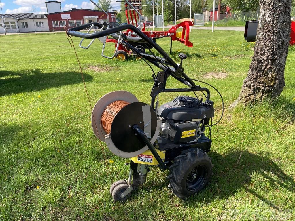 Kabelläggare Robotklippare uthyres Drivning, Hondamotor, kabelrulle