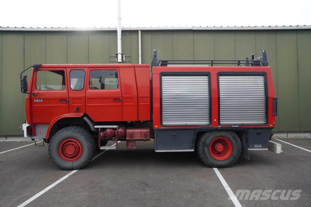 Renault S 140 4X4 FIRE TRUCK 45.000KM MANUAL GEARBOX