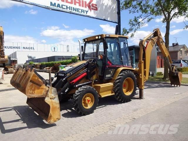Caterpillar 428C Manual gearbox