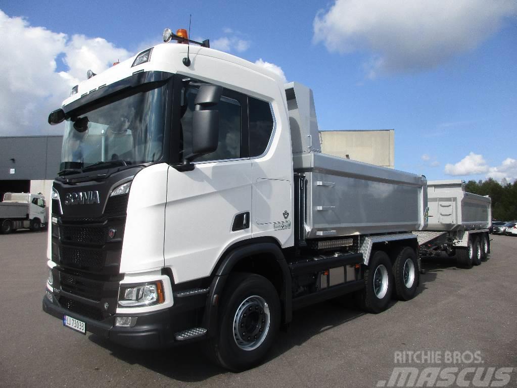 Scania Komplett tipp-sett - Det kan du leie hos oss!!