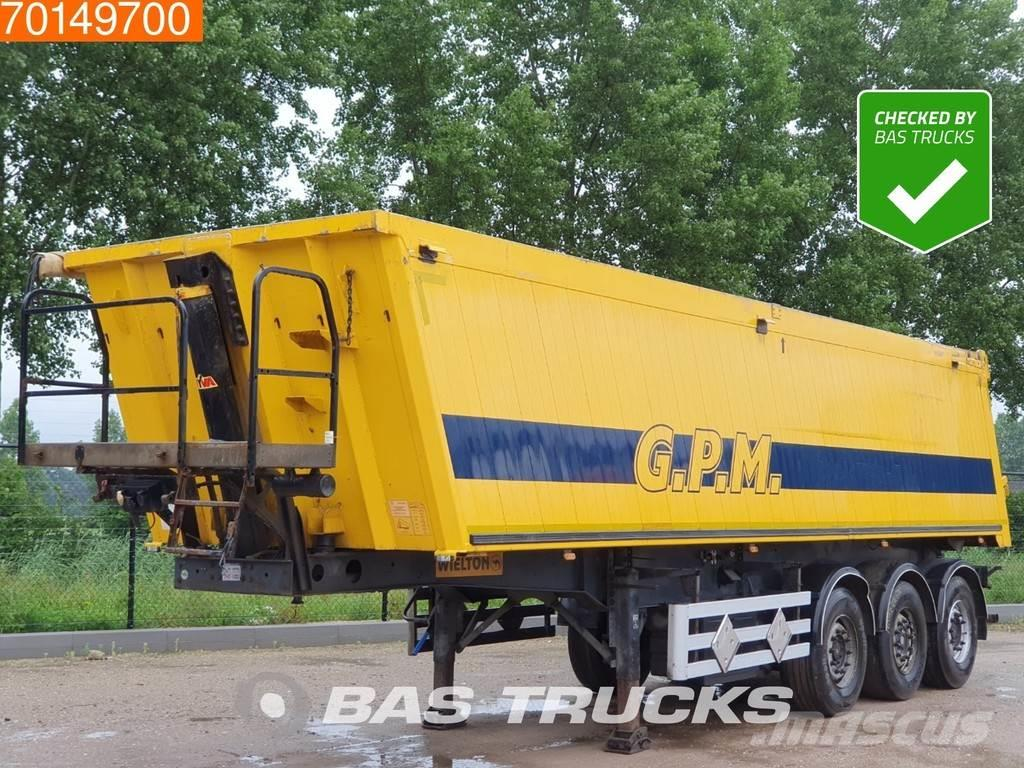 Wielton NW-3 3 axles 38m3 Alu-Kipper Liftachse APK bis 07-