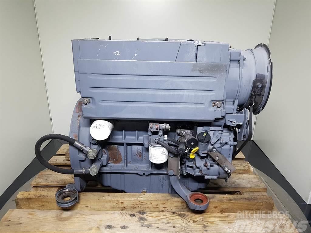 Deutz BF4L1011F - Ahlmann AZ85 - Engine/Motor
