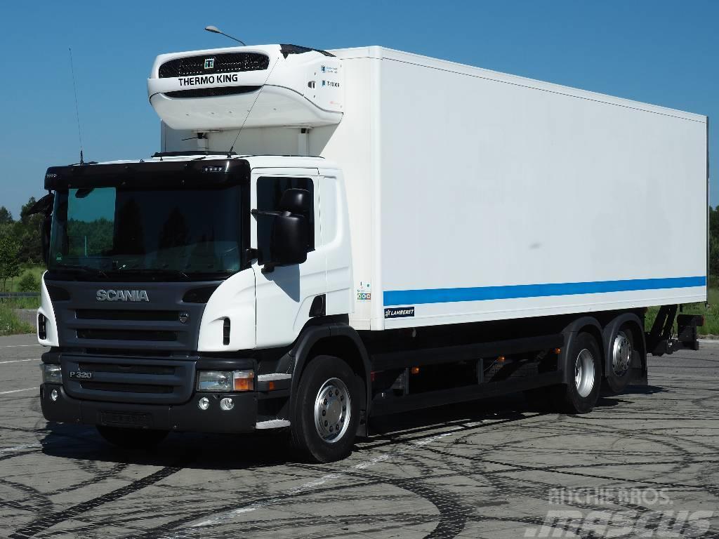 Scania P320 TK T1000 2011 290Tkm 23 PAL. CHŁODNIA