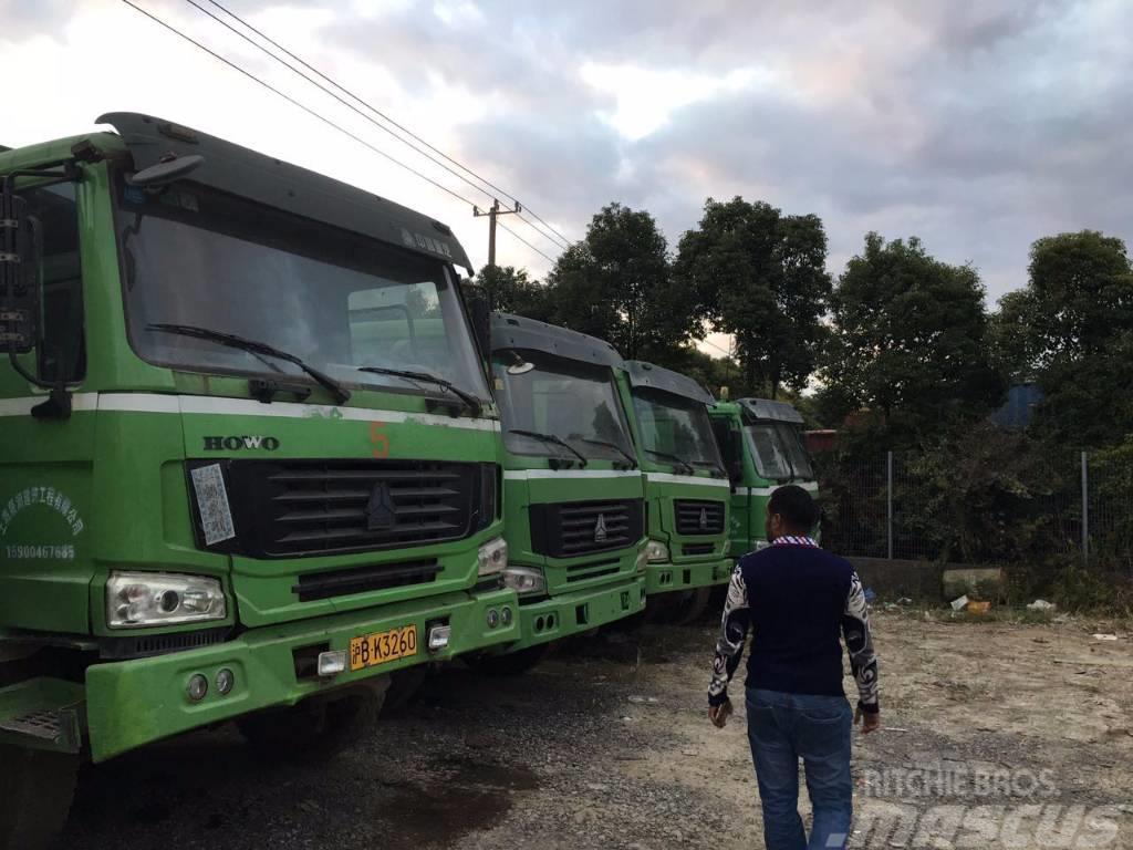 Sinotruk Used 8*4 Howo dump truck