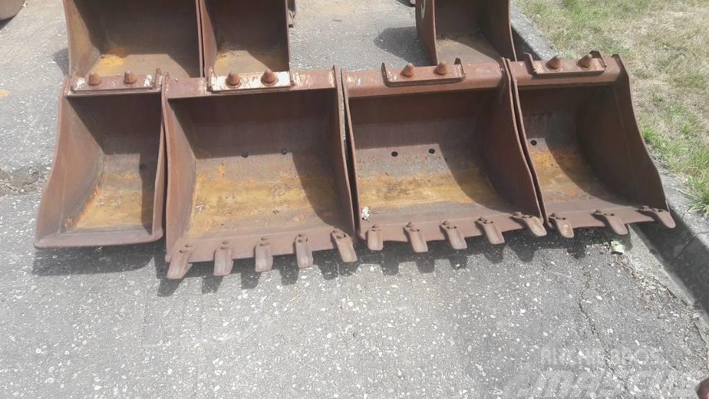 Mecalac Łyżki do MECALACA - na SW, szer 34-56 cm