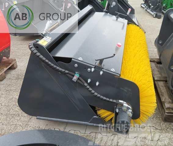 Inter-Tech Bucket with brush 1.8 m/Kehrschaufel 1,8m/Godet av