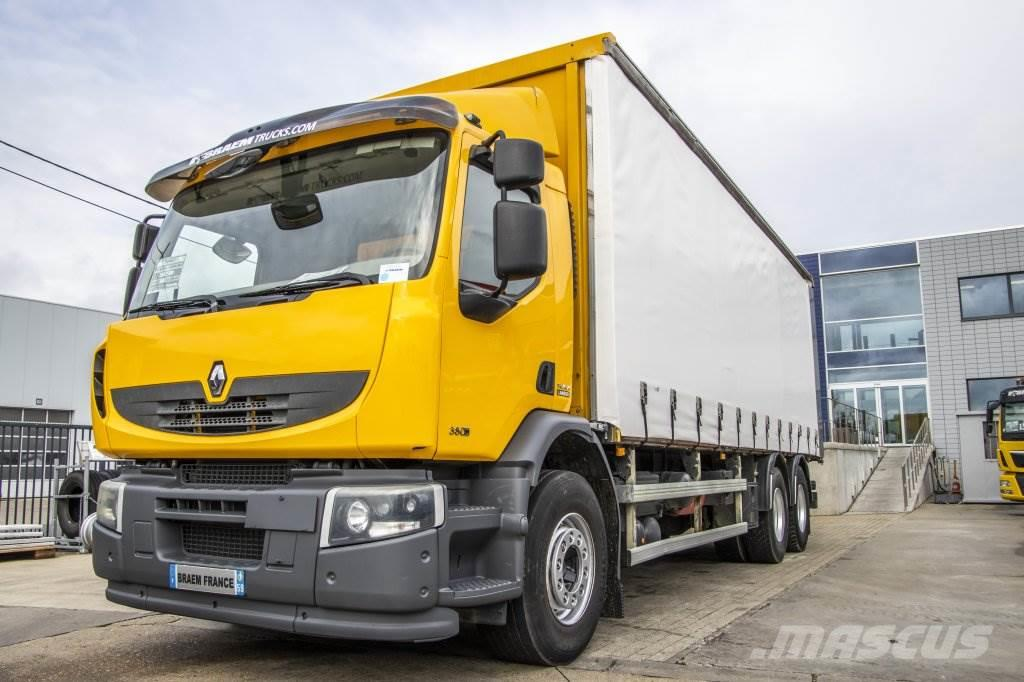 Renault PREMIUM LANDER 380 DXI + 10 roues