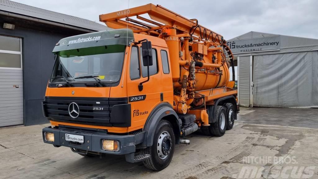 Mercedes-Benz SK 2531 L 6X2 MABO VACUUM - SAUGWAGE