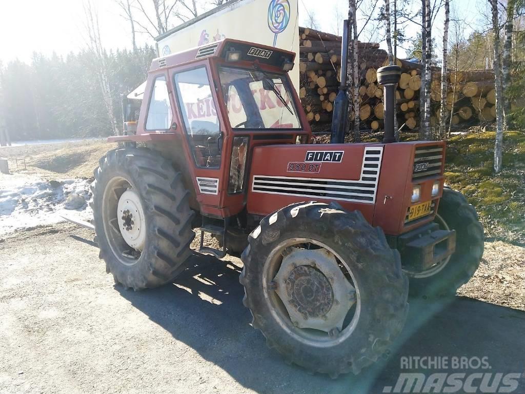 Fiat 980 DT - 4x4 - 4WD - VIDEO