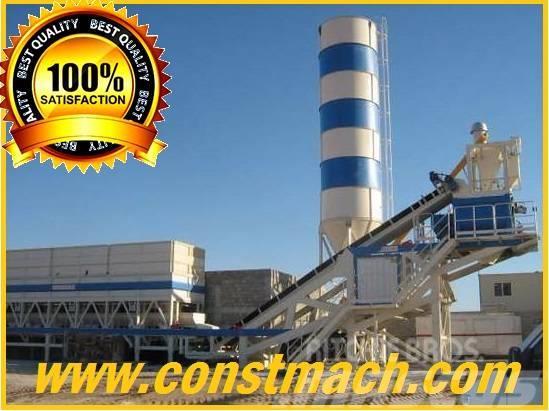 Constmach 120 m3/h MOBILE CONCRETE BATCHING PLANT