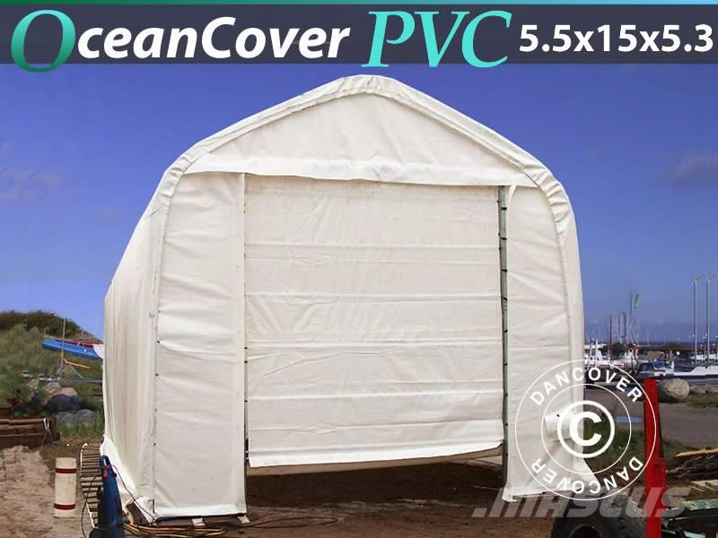 Dancover Storage Tent  5,5x15x4,1x5,3m PVC, Bådtelt