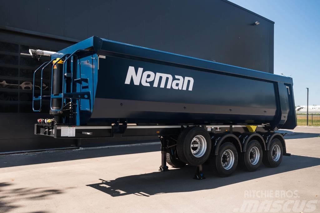 Neman Tipper semitrailer 31cbm