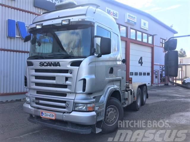 Scania R500, 6x4