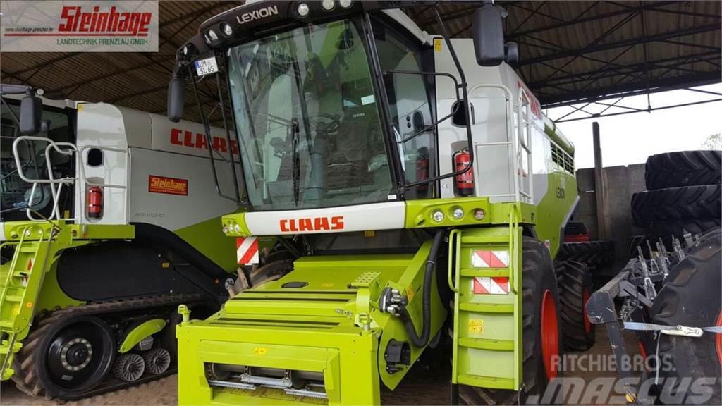 CLAAS Mähdrescher Lexion 760