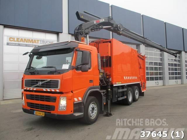 Volvo FM 330 EEV Hiab 21 ton/meter laadkraan