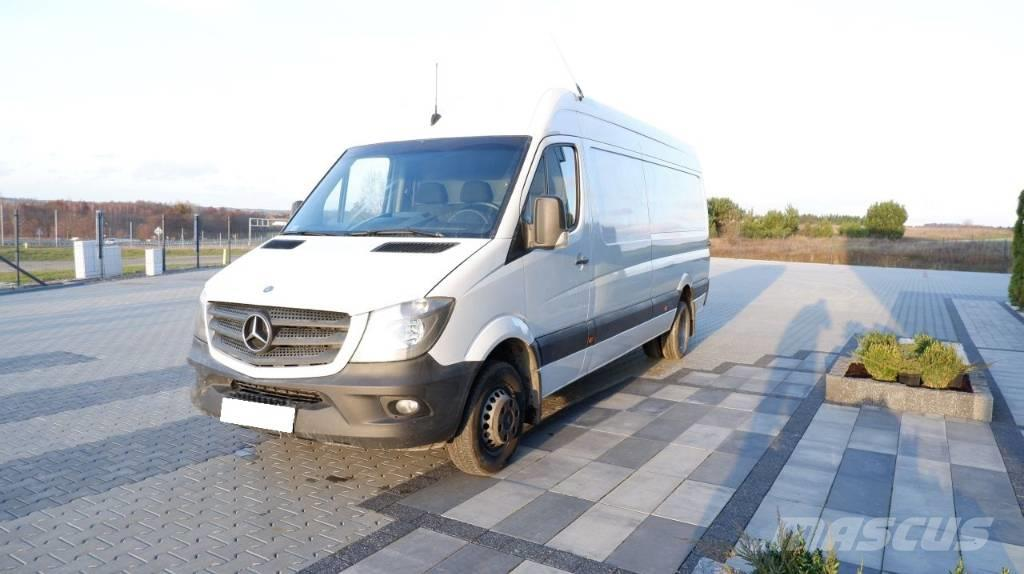 Mercedes Sprinter Rv >> Mercedes Benz Sprinter 516 Cdi Xxl