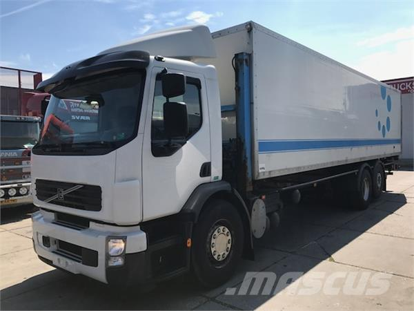 used volvo fe 280 6x2 euro 5 box trucks year: 2010 price: $21,343