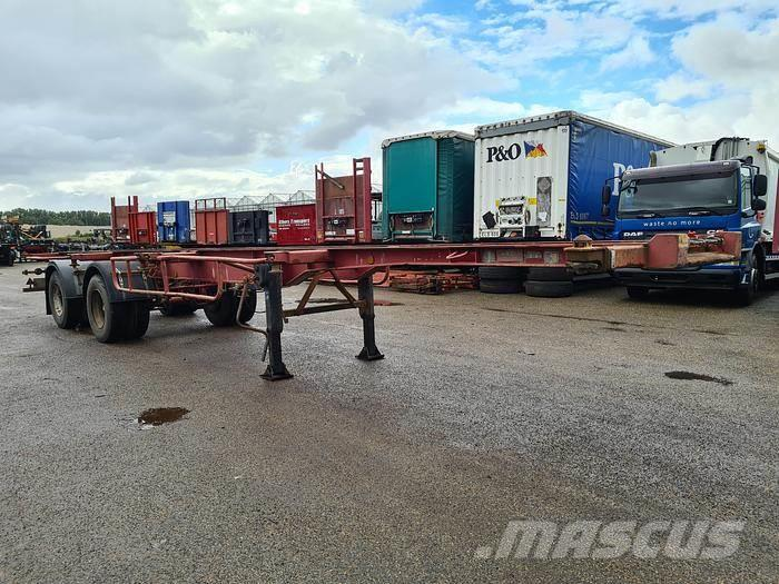 Fruehauf ED 32 PC Container chassis 40ft. / 30ft. / 20ft. S