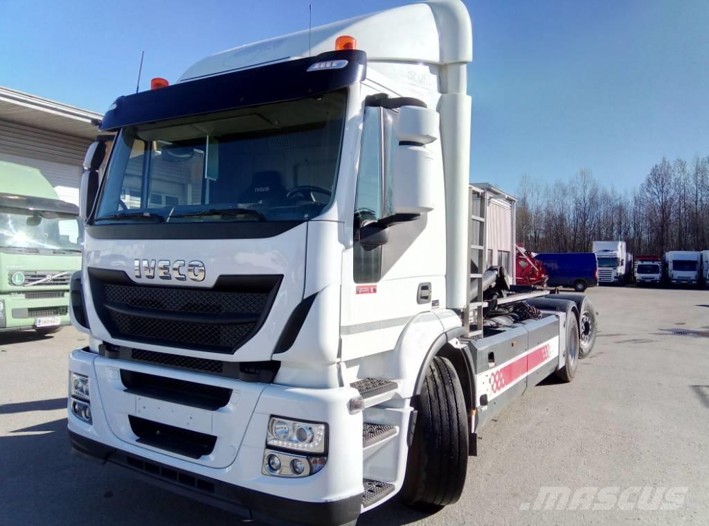 Iveco 260 S33 6x2 CNG