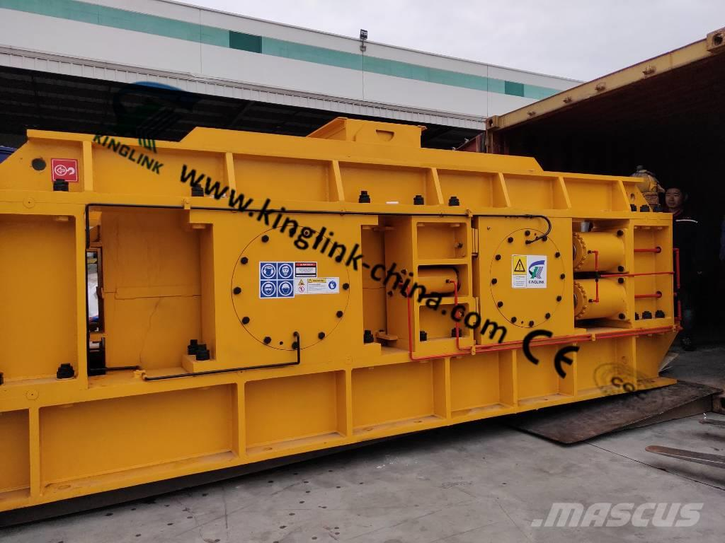 Kinglink KL-2PGS1500 Hydraulic Roller Crusher for Gold Ore