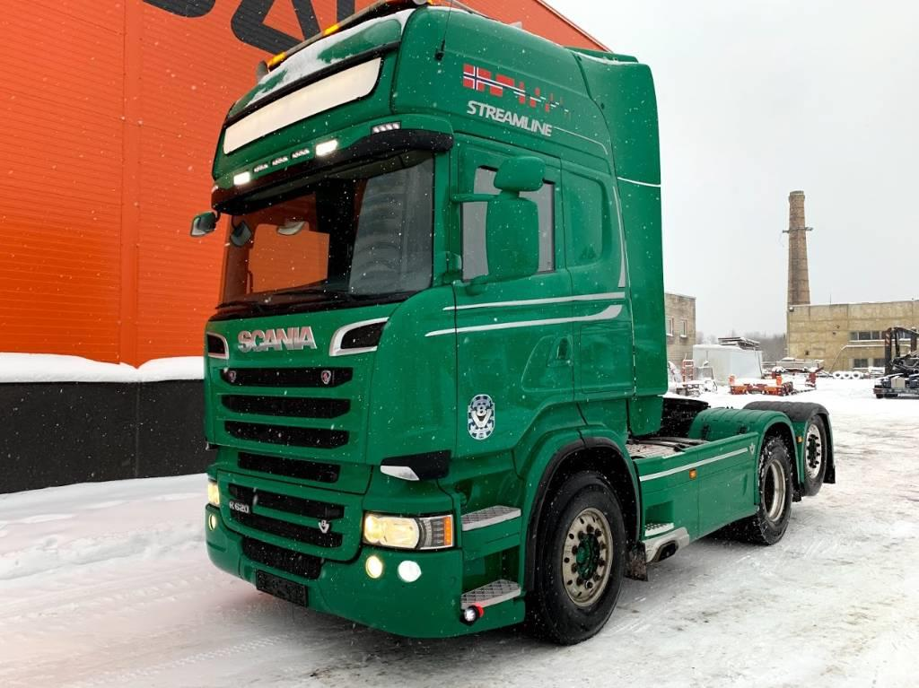 Scania R 620 Euro 5 6x2 Retarder, PTO