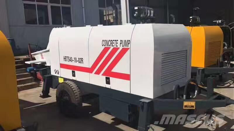 [Other] 60 m³/h portable Diesel Trailer Concrete Pump