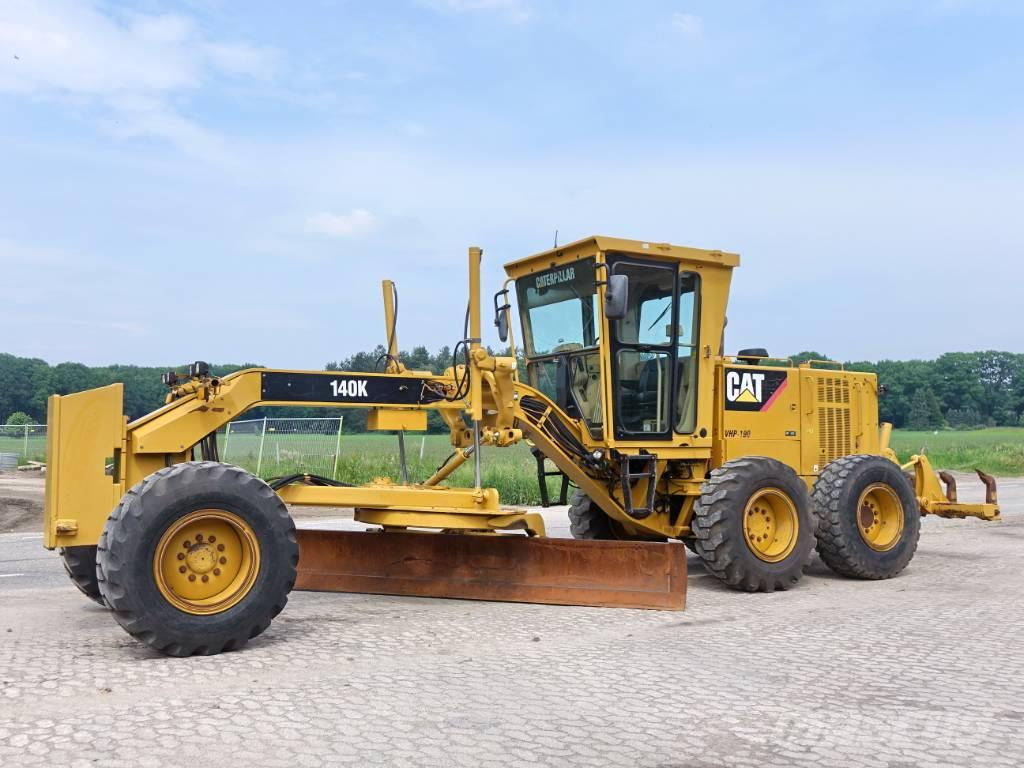Caterpillar 140K + RIPPER (TOP CONDITION)