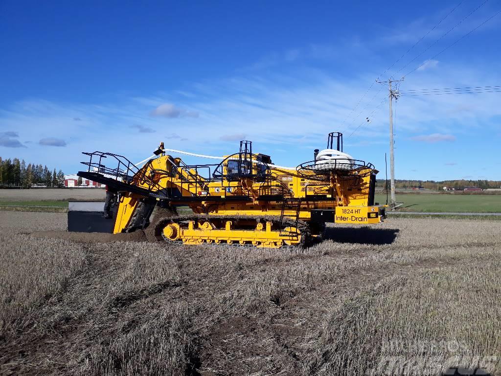 Inter-Drain Inter-Drain trenchers dewatering / drainage