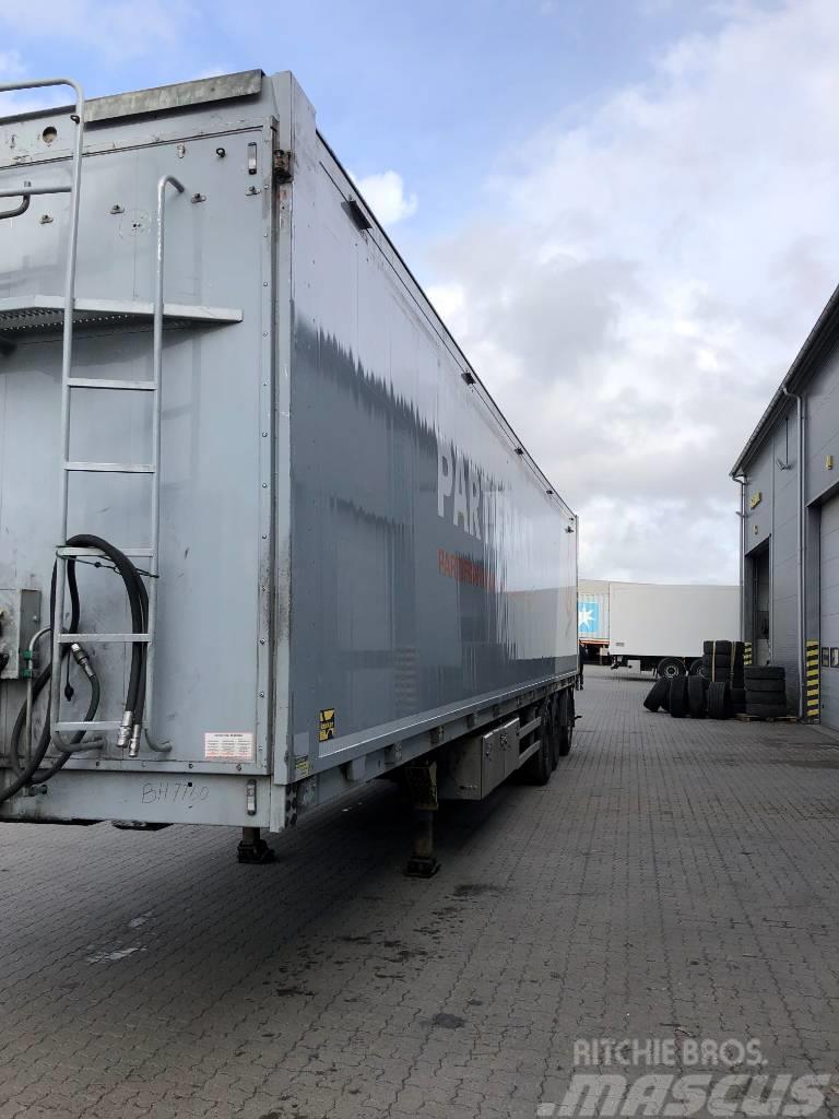 Kraker MOVING FLOOR - 2 HYDRAULISK ÅBENSIDE