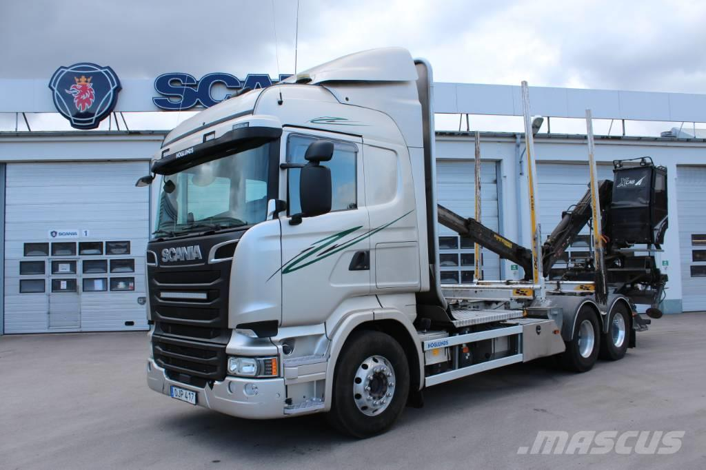 Scania R580 timmerbil LB6x4