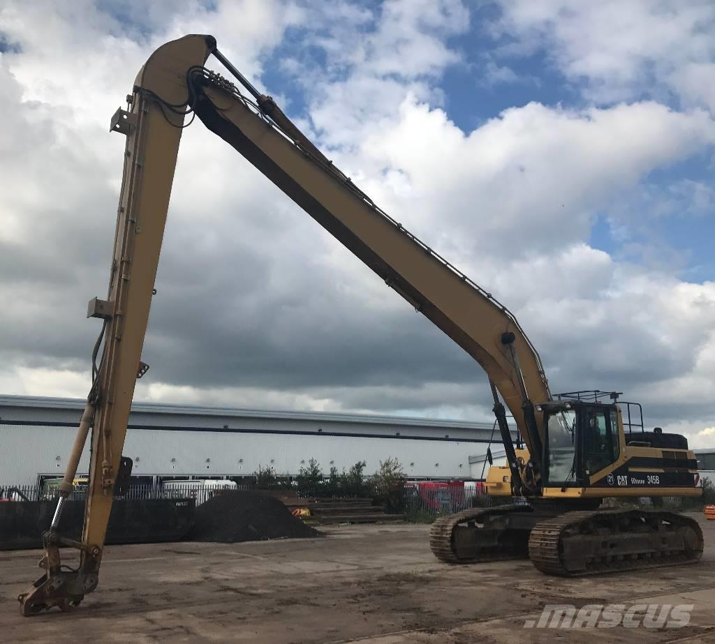 Used Caterpillar 345 B L Long High Reach Excavators Year