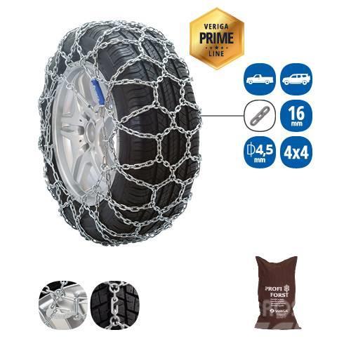 Veriga LESCE PROFI FORST SNOW CHAIN FOR SUV'S, 4X4 AND CR