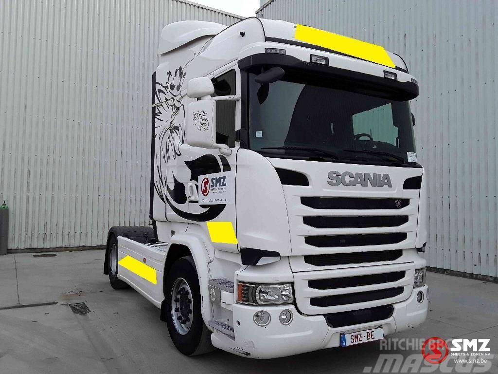 Scania R 450 highline retarder full airhydraulic