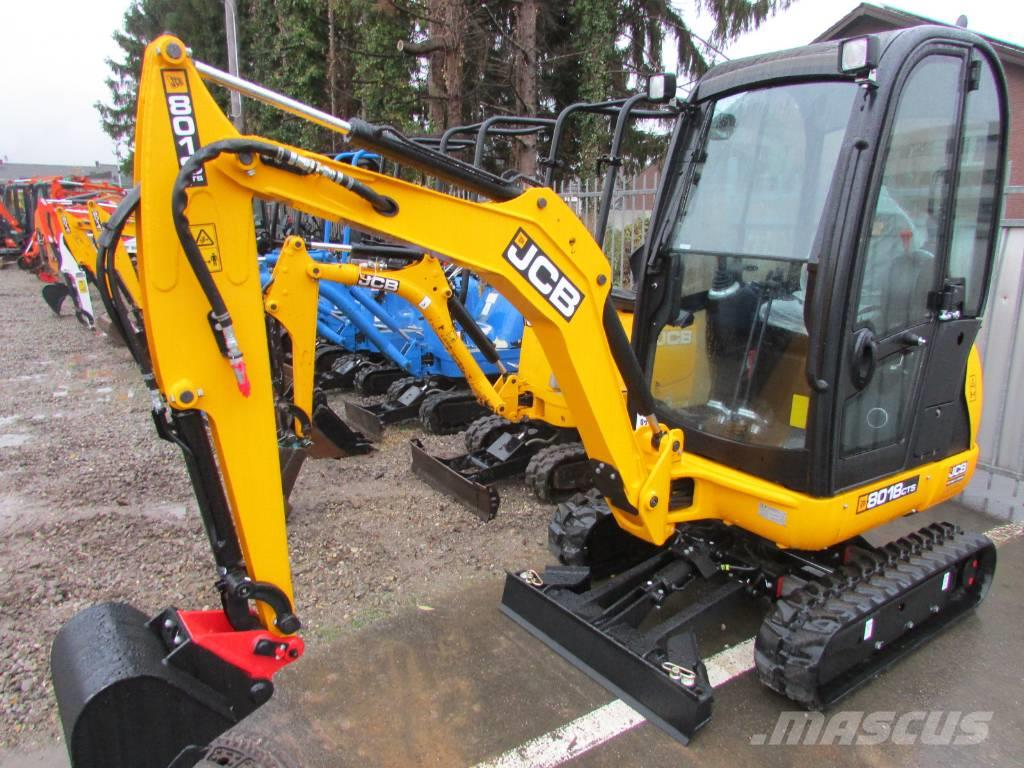 Jcb 8018 cts 5 jahre garantie mini excavators for Garantie construction