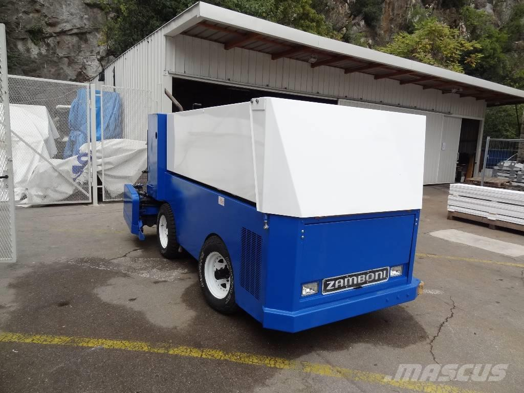 Used Zamboni 440 ice resurfacer other groundcare machines ...
