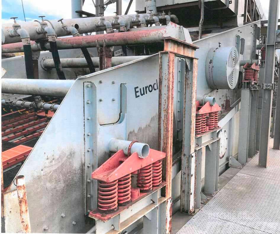 [Other] Euroclass 1-Deck Bananensiebmaschine 8,00 x 3,30 m