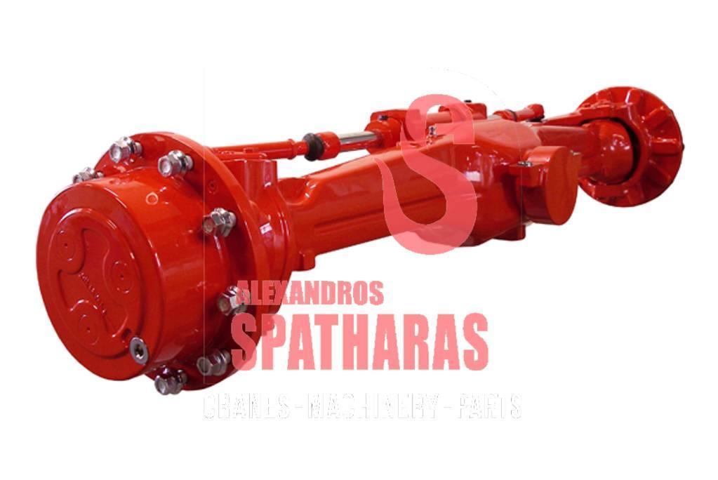 Carraro 66825differential, various parts