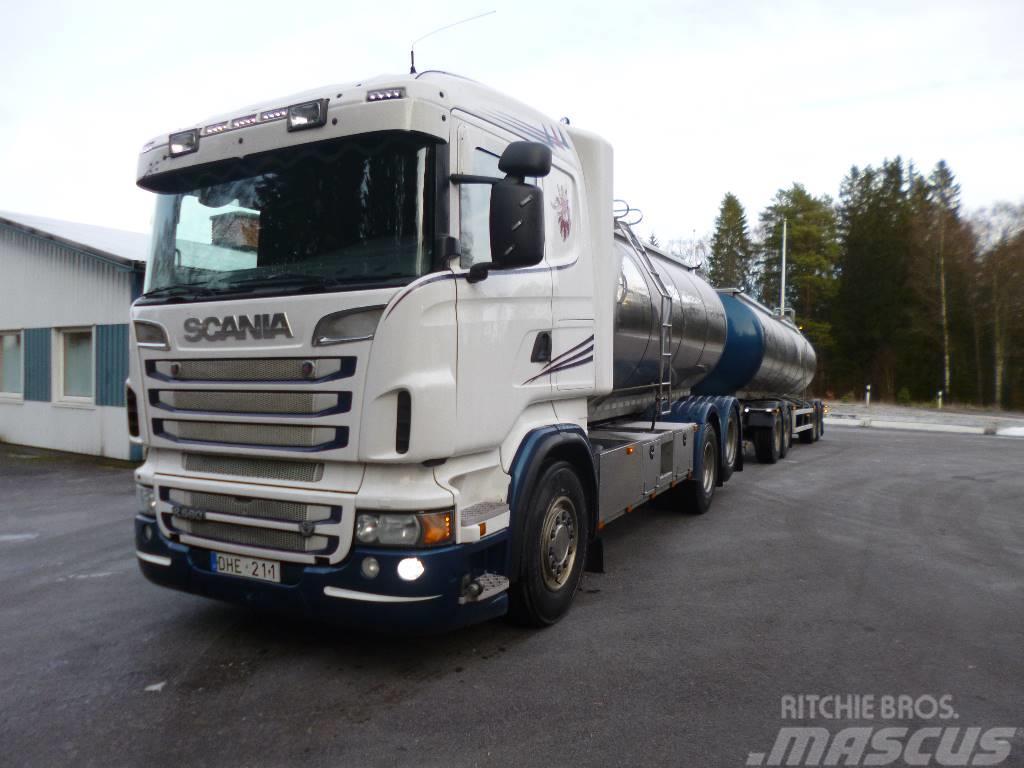 Scania EURO5 2012 R560lb6x2hnb