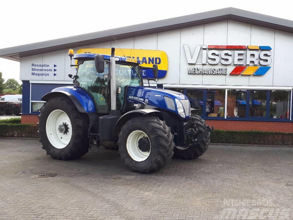 New Holland T 7.270 AC blue power