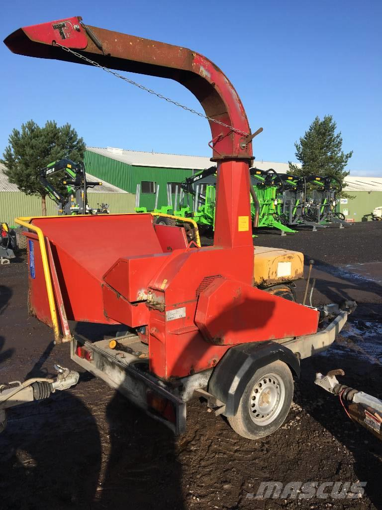 TP 760 Mobile Wood Chipper